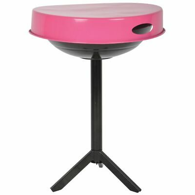 Esschert Design BBQ Table Carbon Steel Pink Cooking Grill