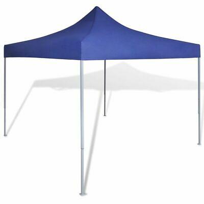 vidaXL Foldable Tent 3x3m Blue Outdoor Garden Marquee Gazebo