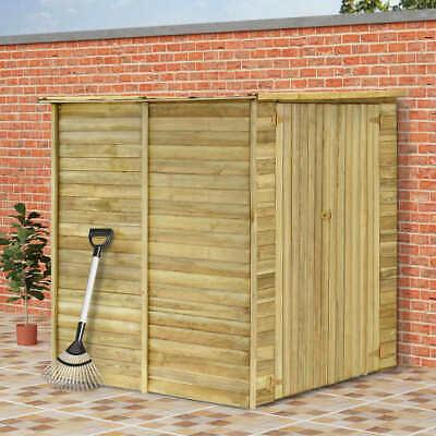 vidaXL Garden Tool Shed Impregnated Pinewood Outdoor Tools