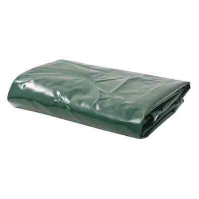 vidaXL Tarpaulin 650g/m² 4x7m Green Water-resistan t