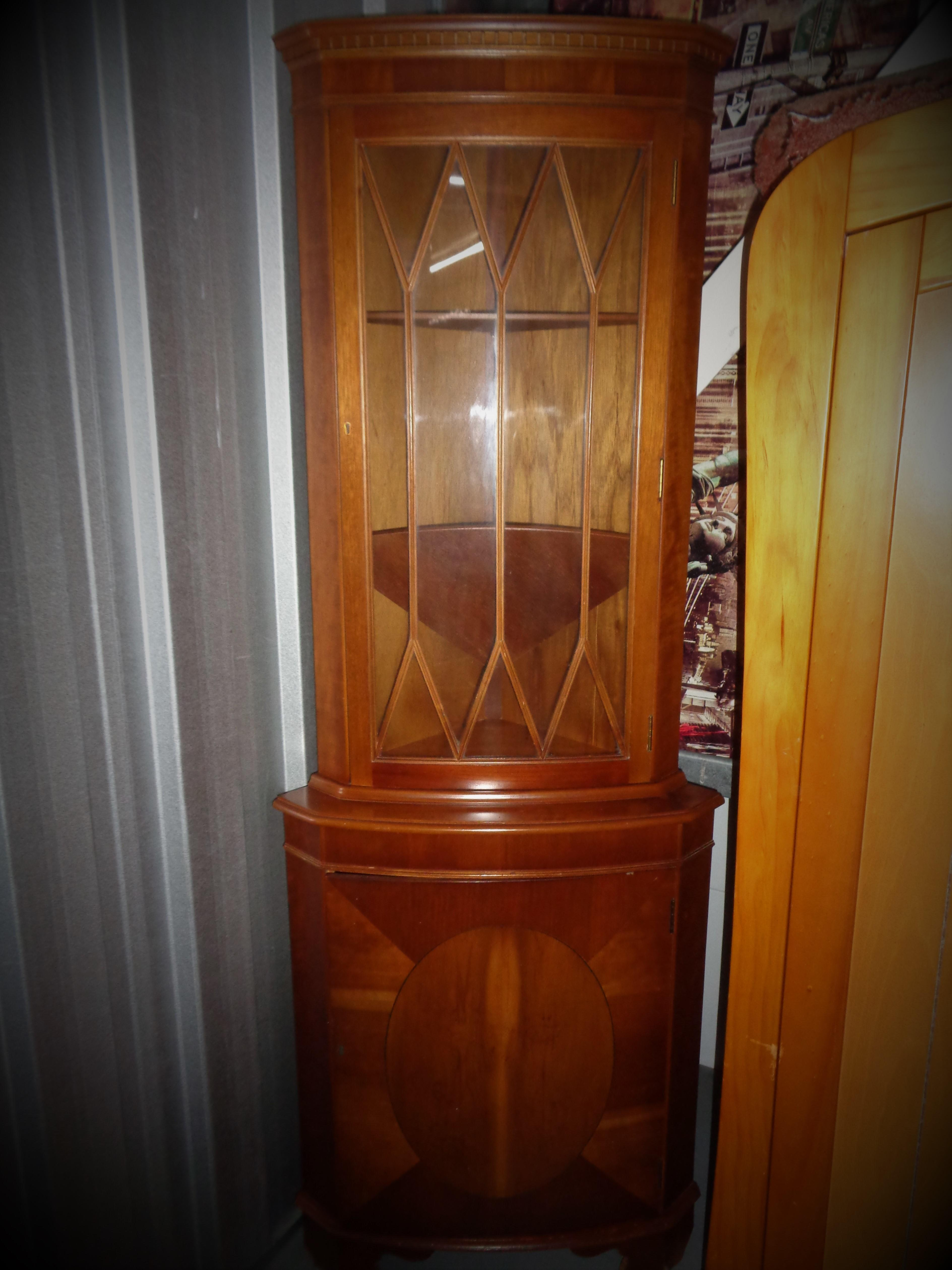 Display Cabinet with all the keys. In used condition