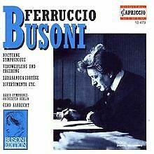 Ferruccio Busoni: Orchesterwerke - Vol. 1 by Woerle, Ge...