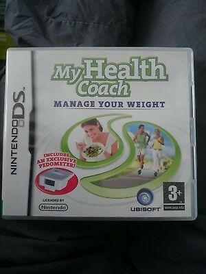 MY HEALTH COACH MANAGE YOUR WEIGHT NINTENDO DS GAME (GAME