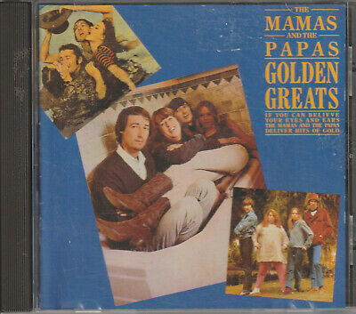 Mamas and The Papas Golden Greats CD  tracks