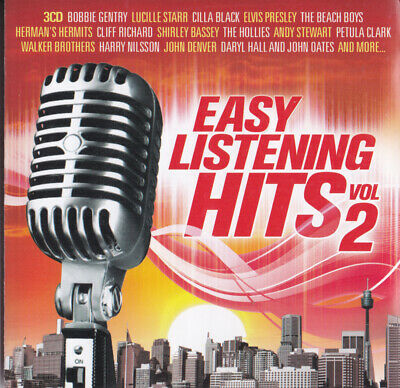 VARIOUS ARTISTS - Easy Listening Hits 2 (3/CDs ) Elvis,