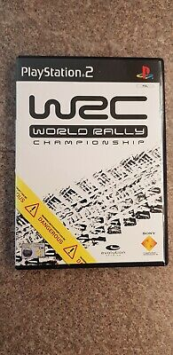 WRC World Rally Championship - Sony PS2 Playstation 2