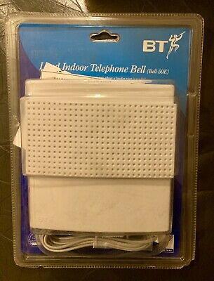 BT Loud Indoor Telephone Bell – Easy Plug In & Use - 50E