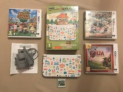 Animal Crossing Happy Home Designer 3DS XL, With Four More