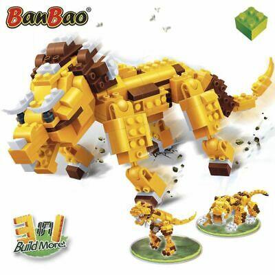BanBao Ancient Lion Children Blocks Set Building