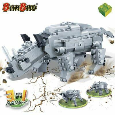 BanBao Ancient Rhino Children Blocks Set Building
