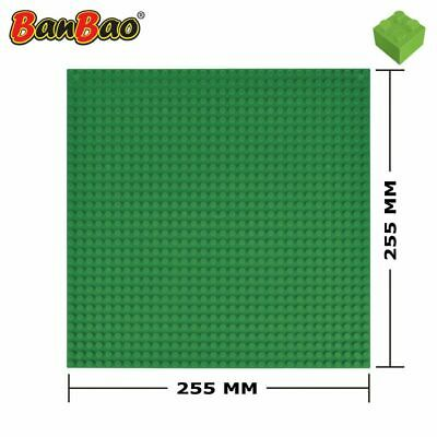 BanBao Baseplate Green Children Brick Building Toy