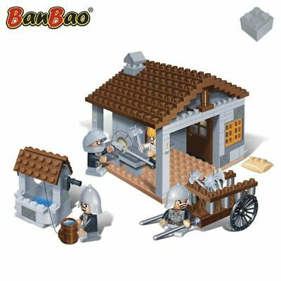 BanBao Blacksmith Children Brick Building Toy Interlocking