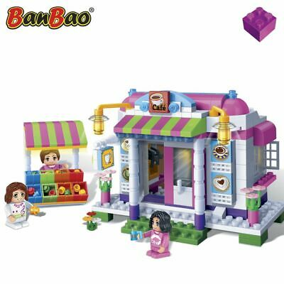 BanBao Cafe Children Pretend Building Brick Set Girls