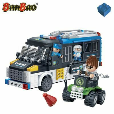 BanBao Police Van and Thief  Interlocking Blocks Bricks