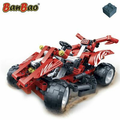 BanBao Red Racer  Building Blocks Racing Car