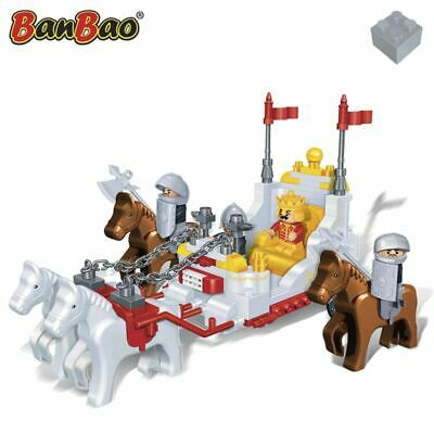 BanBao Royal Carriage Children Bricks Set Building Toy
