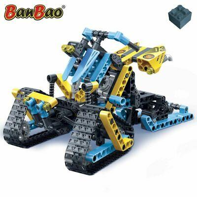 BanBao Snow Driver Kids Blocks Set Building Construction