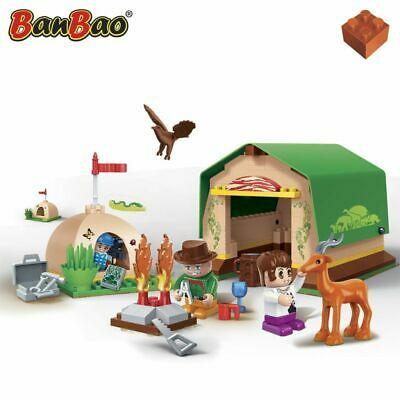 BanBao Tent Encampment Kids Blocks Set Building Construction