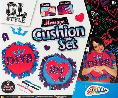 GL Style Grafix DIVA BFF Make Your Own Cushion Pillow Kids