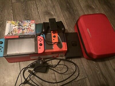Nintendo Switch Console V2 - Neon with improved battery.