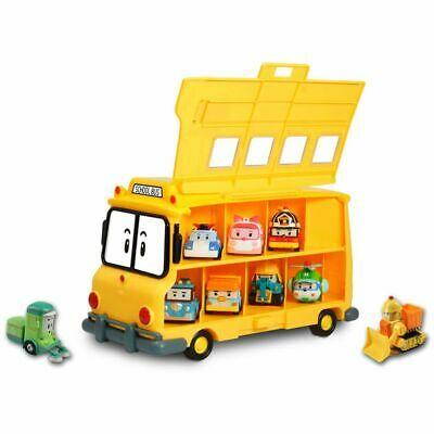 Robocar Poli School Bus Car Vehicle Toy w/ Handle Children