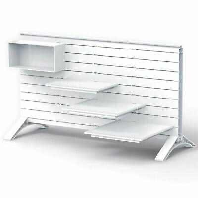 iWALLZ Starter Pack White Interlocking Wall and Shelf Kids