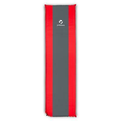 10 CM THICK SINGLE SELF INFLATE CAMPING MAT CAMP INFLATABLE