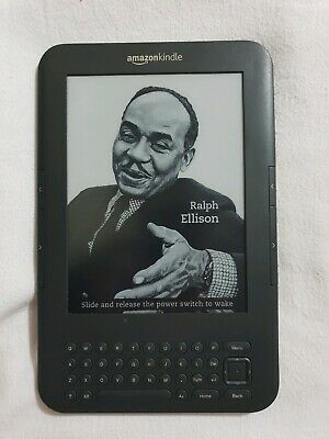 Amazon Kindle Keyboard (3rd Generation) 4GB, Wi-Fi + 3G 6in