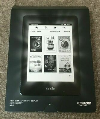 Amazon Kindle Paperwhite 2 (6th Generation) Black 4GB