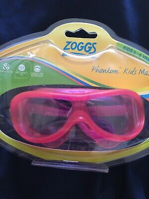 ZOGGS PHANTOM KIDS MASK SWIMMING GOGGLES ~ COLOUR: PINK ~