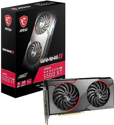 MSI Radeon RX  XT Gaming X 8GB Graphics Card AMD Radeon