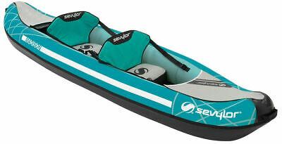 Sevylor Madison Inflatable Kayak Canoe Outdoor Adventure River Rafting