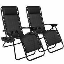 2 x Zero Gravity Ergonomic Recliner Chairs