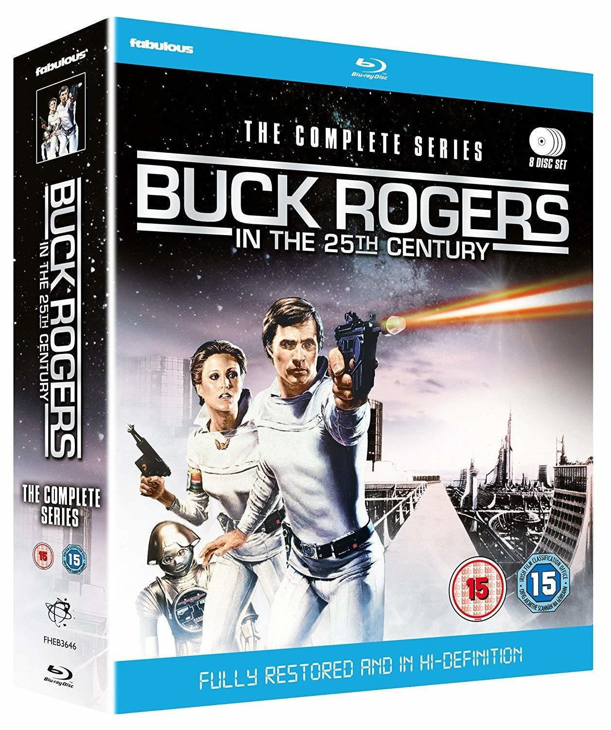 Buck Rogers in the 25th Century Complete Series on blu ray