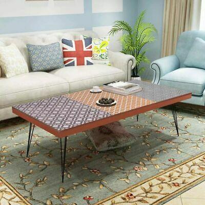 vidaXL Coffee Table Brown Side End Living Room Home