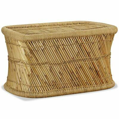 vidaXL Coffee Table Rectangular 78x50x45 cm Bamboo Living