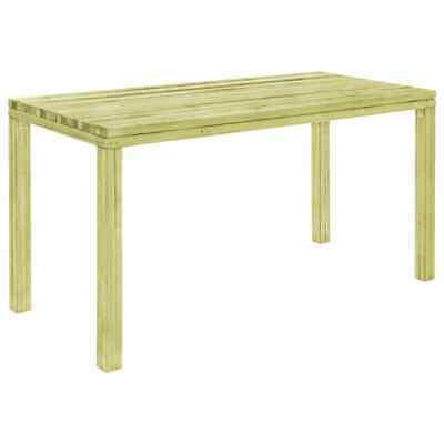 vidaXL Garden Dining Table 150cm FSC Impregnated Pinewood