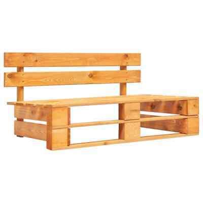 vidaXL Garden Pallet Bench FSC Wood Brown Outdoor Patio
