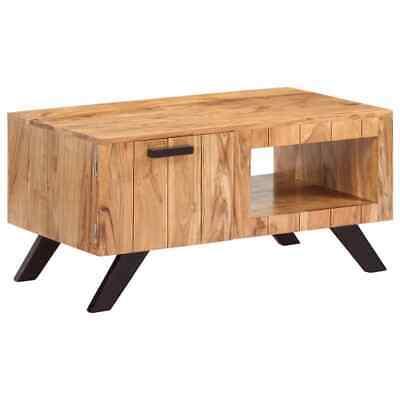 vidaXL Solid Acacia Wood Coffee Table 90x50x45cm Living Room