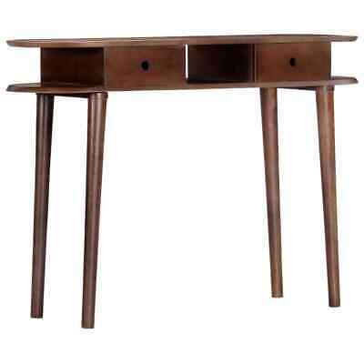 vidaXL Solid Acacia Wood Console Table Side End Hall Hallway