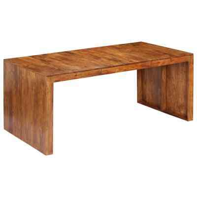 vidaXL Solid Acacia Wood Dining Table Home Kitchen Dinner