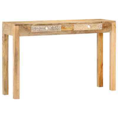 vidaXL Solid Mango Wood Console Table Hall Dressing Entryway