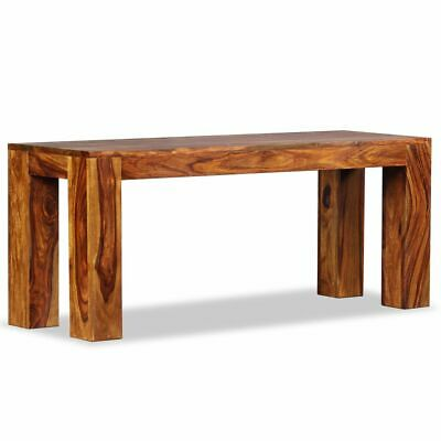 vidaXL Solid Sheesham Wood Bench 110x35x45cm Entryway Hall