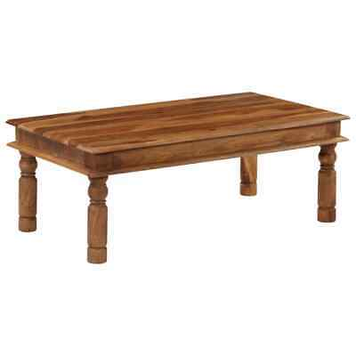 vidaXL Solid Sheesham Wood Coffee Table 110x60x40cm Living
