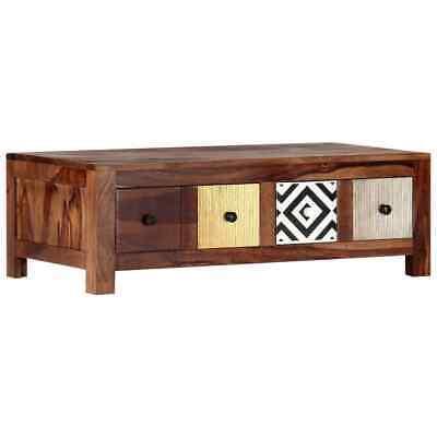 vidaXL Solid Sheesham Wood Coffee Table 90x50x30cm Home