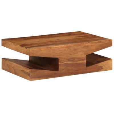 vidaXL Solid Sheesham Wood Coffee Table 90x60x30cm Home