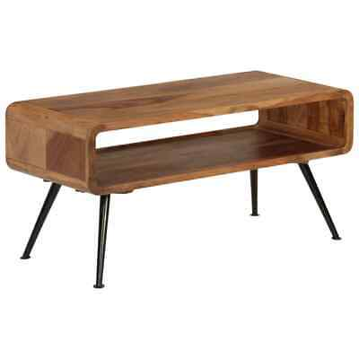 vidaXL Solid Sheesham Wood Coffee Table 95x40x45cm Home