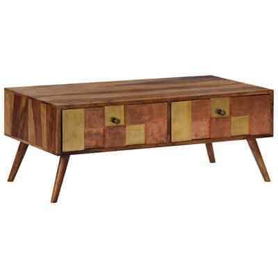 vidaXL Solid Sheesham Wood Coffee Table Living Room Tea Side