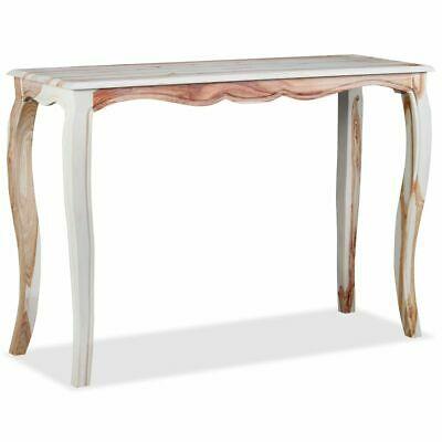 vidaXL Solid Sheesham Wood Console Table 110x40x76cm