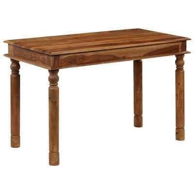 vidaXL Solid Sheesham Wood Dining Table 120x60x77cm Home
